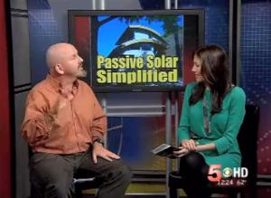 TV interview of green Colorado architect Thomas Doerr